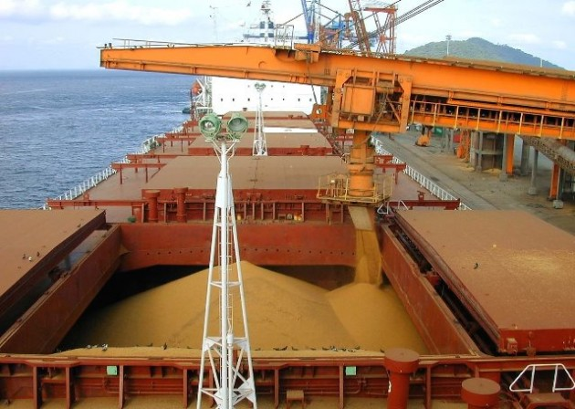 Carregamento - Soja - Ship Loader