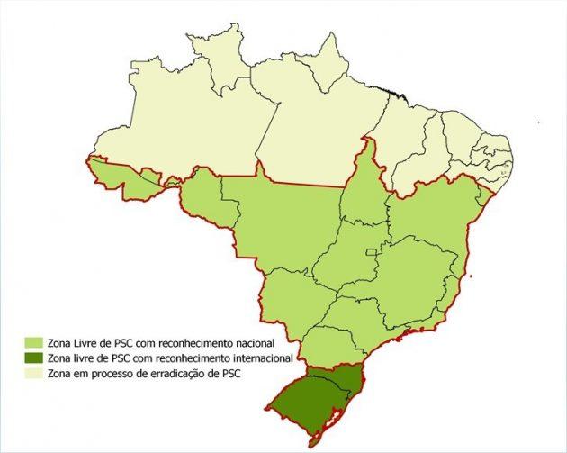 mapa suinos
